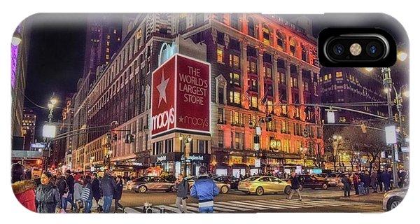 Macy's Of New York IPhone Case