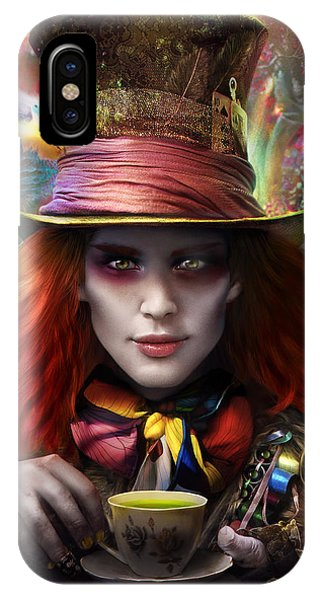 Mad As A Hatter IPhone Case