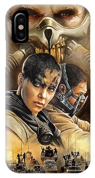 Fury iPhone Case - Mad Max Fury Road Artwork by Sheraz A