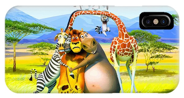 Frozen Food iPhone Case - Madagascar by Don Kuing