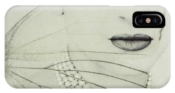 School iPhone Case - Madam Butterfly - Maria Callas  by Paul Lovering