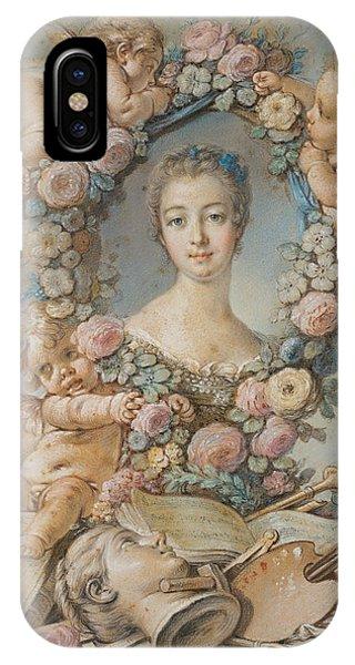 French Painter iPhone Case - Madame De Pompadour by Francois Boucher