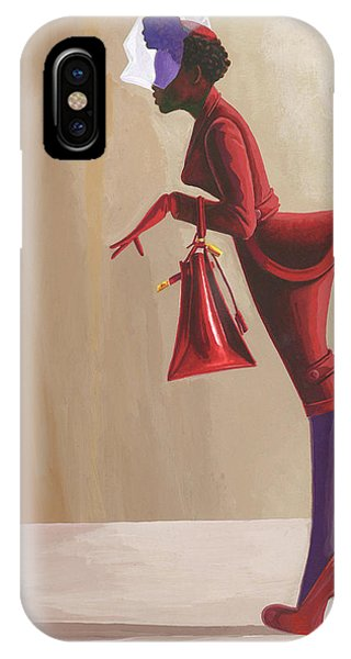 Madame Rouge IPhone Case
