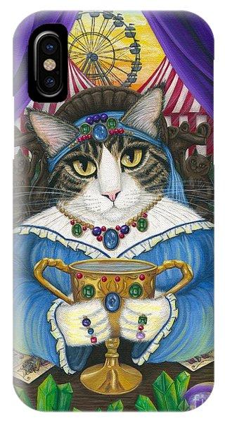 Madame Zoe Teller Of Fortunes - Queen Of Cups IPhone Case