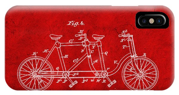 Custom Made iPhone Case - Made For Two - Red by Delphimages Photo Creations