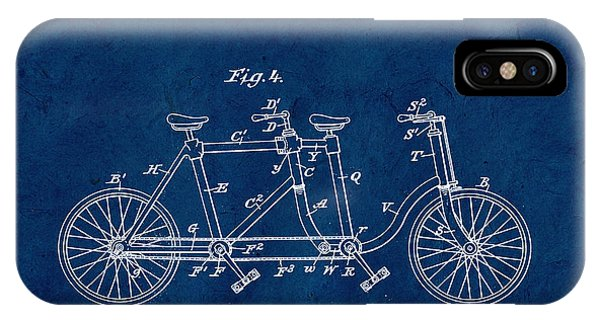 Custom Made iPhone Case - Made For Two - Blue by Delphimages Photo Creations