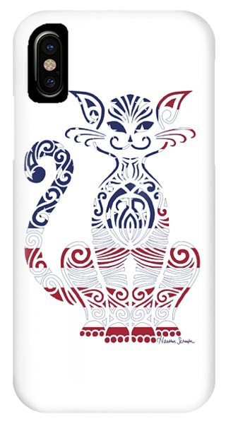 Made In The Usa Cat IPhone Case