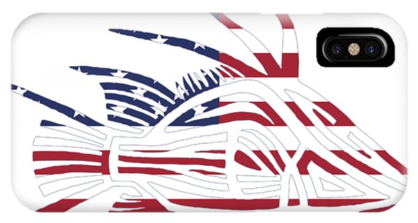 Made In The Usa Tribal Hogfish IPhone Case