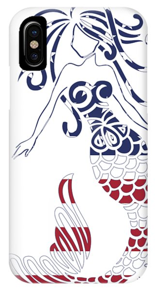 Made In The Usa Tribal Mermaid IPhone Case