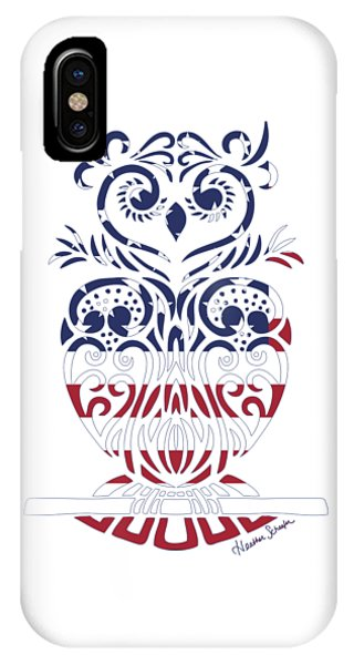 Made In The Usa Tribal Owl IPhone Case