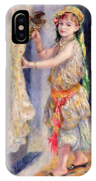 Mademoiselle Fleury In Algerian Costume IPhone Case