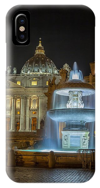 Maderno's Fountain IPhone Case