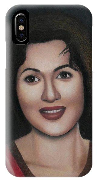 Madhubala - The Angel Of India IPhone Case