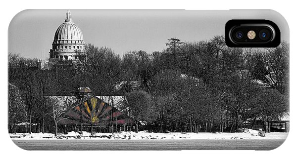 Madison Capitol And Zoo 3 IPhone Case
