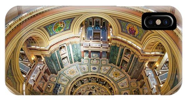 Madison Capitol Rotunda IPhone Case
