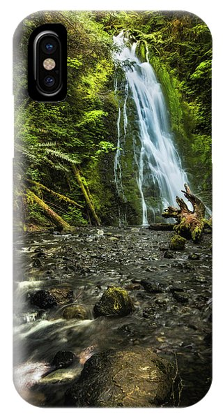 IPhone Case featuring the photograph Madison Falls - An Elwha Sanctuary by Expressive Landscapes Fine Art Photography by Thom