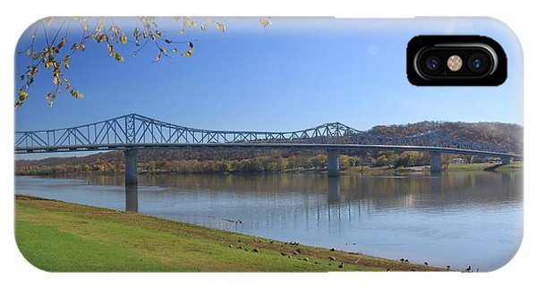 Madison, Indiana Bridge  IPhone Case