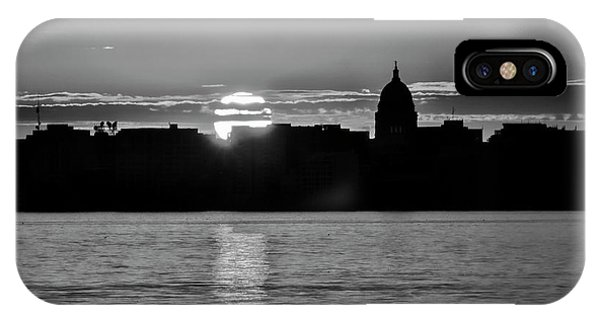 Madison Sunset 3 IPhone Case