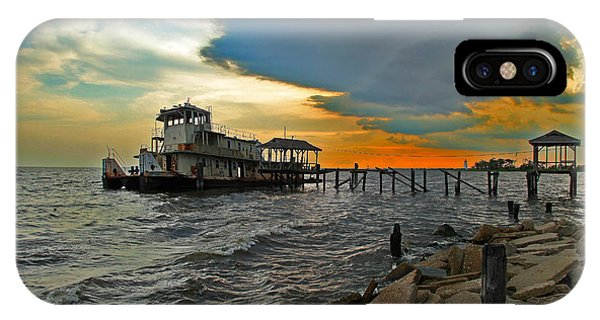 Madisonville Katrina Ghost Boat  IPhone Case