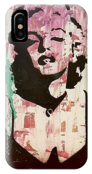 IPhone Case featuring the painting Madness Is Genius by Jayime Jean