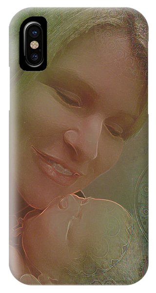 Madonna And Child 1 IPhone Case