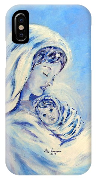 Madonna And Child By May Villeneuve IPhone Case