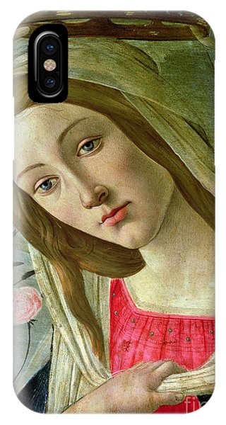 Botticelli iPhone Case - Madonna And Child Crowned By Angels by Sandro Botticelli