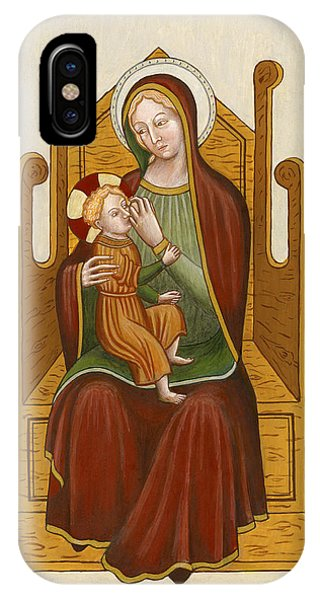 Madonna Del Latte - Madonna Nursing IPhone Case
