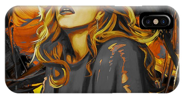 Child Actress iPhone Case - Madonna The Singer  by Gull G