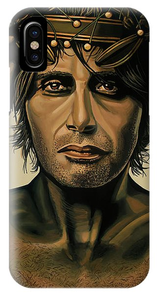 Doctor iPhone Case - Mads Mikkelsen Painting by Paul Meijering