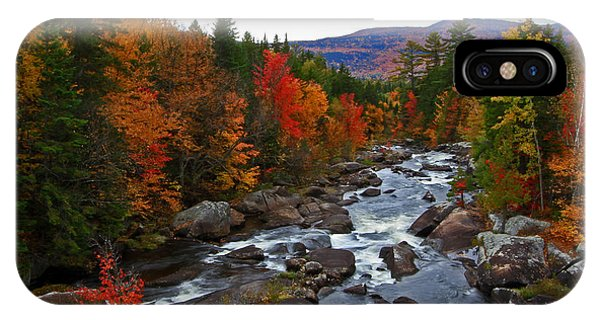 Magalloway River In Fall IPhone Case