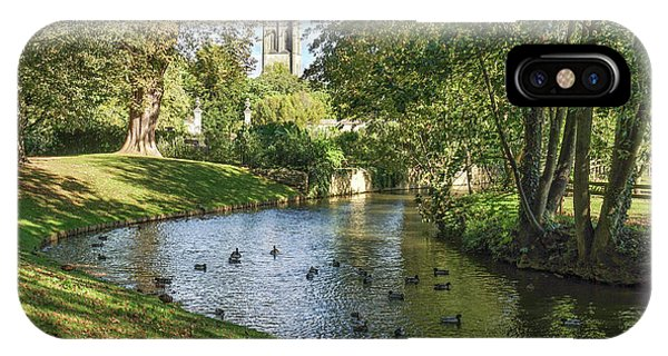Magdalen From The River Cherwell IPhone Case