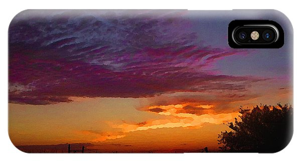 Magenta Morning Sky IPhone Case