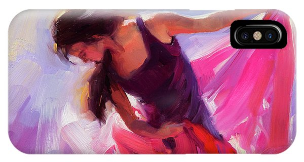 T Shirts iPhone Case - Magenta by Steve Henderson