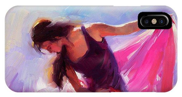 Girls In Pink iPhone Case - Magenta by Steve Henderson