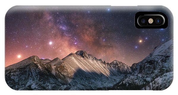 IPhone Case featuring the photograph Magic In The Mountains by Darren White