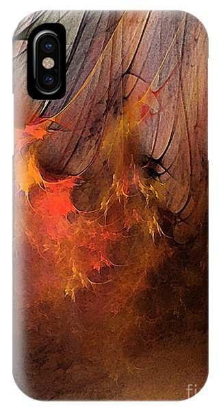 Abstract Expression iPhone Case - Magic by Karin Kuhlmann