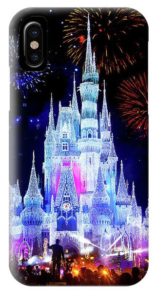 Magic Kingdom Fireworks IPhone Case