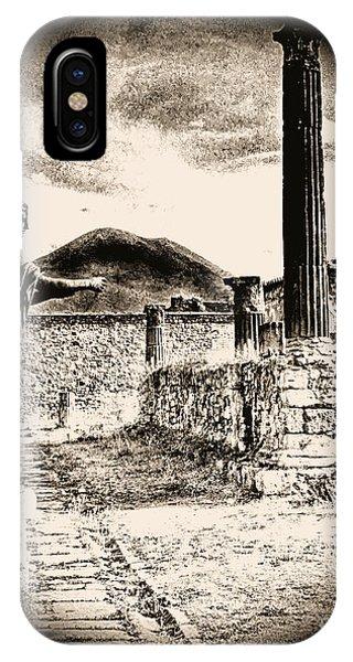 Magic Lantern Pompeii IPhone Case