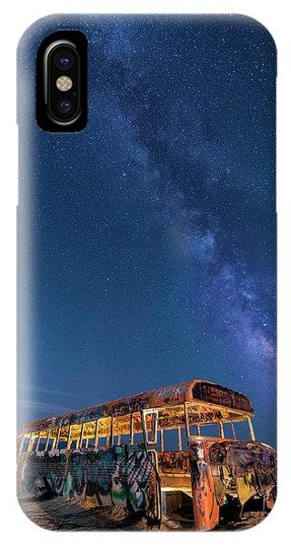 Magic Milky Way Bus IPhone Case