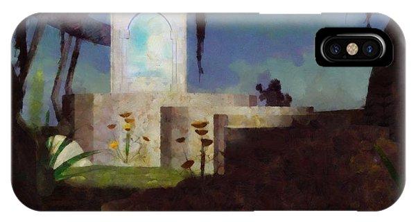 Strange iPhone Case - Magic Mirror by Esoterica Art Agency