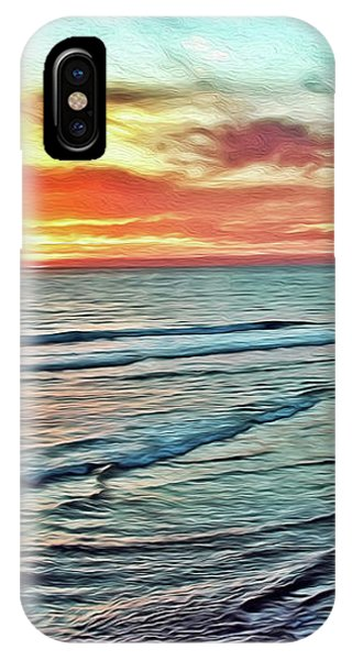 Magic Sunset Color Spectrum IPhone Case