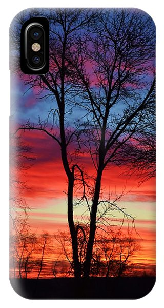 Magical Colors In The Sky IPhone Case