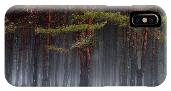 Magical Pines IPhone Case
