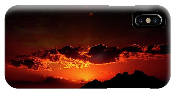 Magical Sunset In Africa 2 IPhone Case