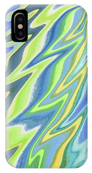 Organic Abstraction iPhone Case - Magical Wing Abstract Art by Irina Sztukowski