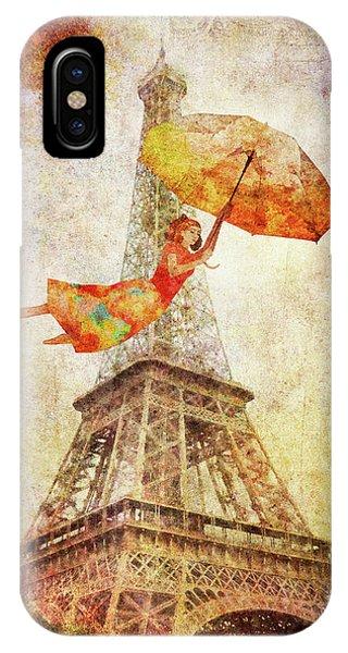 Magically Paris IPhone Case