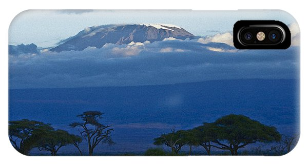 Magnificent Kilimanjaro IPhone Case