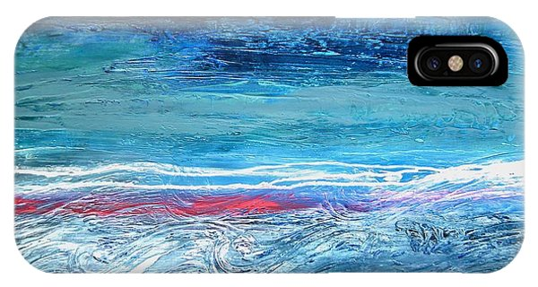 Magnificent Morning Abstract Seascape IPhone Case