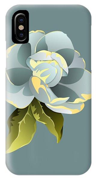 Magnolia Blossom Graphic IPhone Case